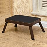 Taburete de una Escalera Taburete Plegable Silla para Niños Dual Uso Portable Outdoor Sketching Fishing Pony Stool Home (Color : Color Cafe)