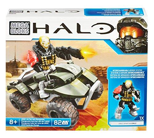 Mattel Mega Bloks DBB00 Halo - UNSC All-Terrain Mongoose