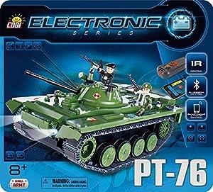 Cobi 21906 Electronic Series Tank PT-76 (I/R y Bluetooth)