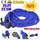 #2: Dealcrox 75ft Expandable Hose Pipe Nozzle For Garden Wash Car Bike With Spray Gun And 7 Adjustable Modes ( 75FT & 22.5M )