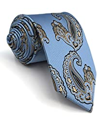 Shlax Wing Hombre Seda Corbatas Para Azul Cachemir La Moda Extra largo 44a68852c91