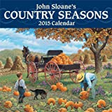 John Sloane's Country Seasons 2015 Mini Wall Calendar