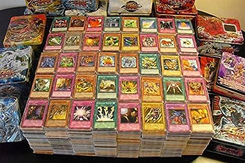 Yu-Gi-Oh! Lot de 50 Cartes Françaises + 1 Carte Brillante