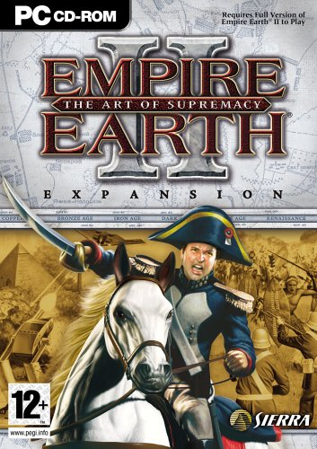 empire earth 2 Empire Earth II: The Art of Supremacy Expansion Pack [UK Import]