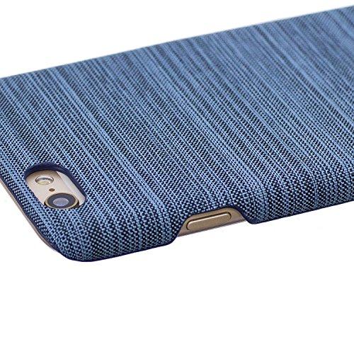 Apple iPhone 7/iPhone 8 4.7 Coque, Voguecase Rigide Plastique Shell Housse Coque Étui Case Cover(Voile Séries-Bleu foncé)de Gratuit stylet l'écran aléatoire universelle Voile Séries-Bleu clair