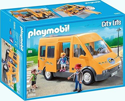 Playmobil Playmobil-6866 Autobús Escolar Playset