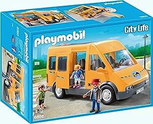 Playmobil Playmobil-6866 Autobús  Escolar Playset,, Miscelanea (6866
