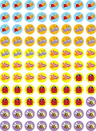 Preisvergleich Produktbild Kreative Teaching Dr-cken CTP7156 Bugs Hot Spots Aufkleber