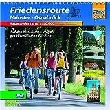 Quadrat-Spiralo BVA Friedensroute Münster-Osnabrück Auf den historischen Wegen des Westfälischen Friedens Radwanderkarte 1:50.000 -