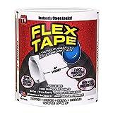 Flex Tape Klebeband, Weiß 10,2x 12,7 cm
