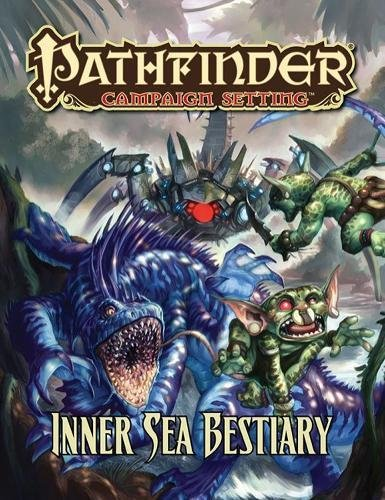 Pathfinder Campaign Setting: Inner Sea Bestiary por Jim Groves