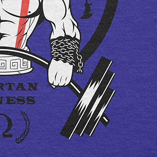Texlab–GOD S GYM Spartan Fitness–sacchetto di stoffa Marine