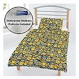 Despicable Me Minions Junior Bettbezug Set + Wasserdicht Matratze Sonnenblende