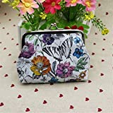 Albeey Womens Lady animal Wallet Card Holder Coin Purse Clutch Handbag (butterfly)
