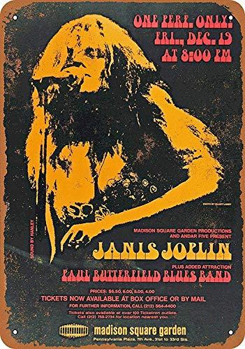 Lorenzo Madison Square Garden Vintage Metal Vintage Metallblechschild Wand Eisen Malerei Plaque Poster Warnschild Cafe Bar Pub Bier Club Dekoration (Square-eisen-wand-dekor)