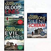 Blood lines and evil games and silent scream angela marsons 3 books collection set