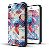 iPhone 5 hülle,iPhone 5s hülle,iPhone se hülle,Lizimandu TPU 3D Handyhülle Muster Case Cover Für iphone5/5s/5se(Bunte Pizzle/Colorful Pizzle)