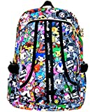 XIAOMEI Colourful Cartoon A4 Backpack 8130J for Travel, Holiday, School or College etc.