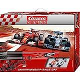 "Carrera Digital 143 - Championship Race Off (Ferrari F14T ""Alonso"" + Mercedes F1 W05 ""Hamilton"") 5.6 m, escala 1:43 (20040028)"