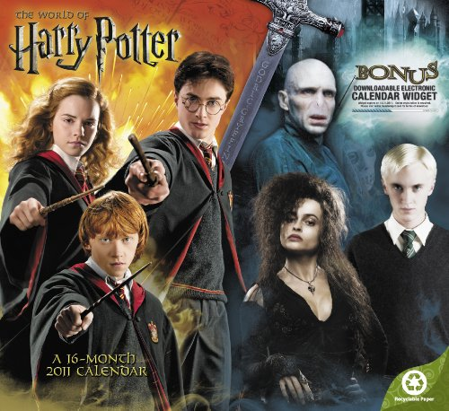 Click for larger image of The World of Harry Potter 2011 Calendar