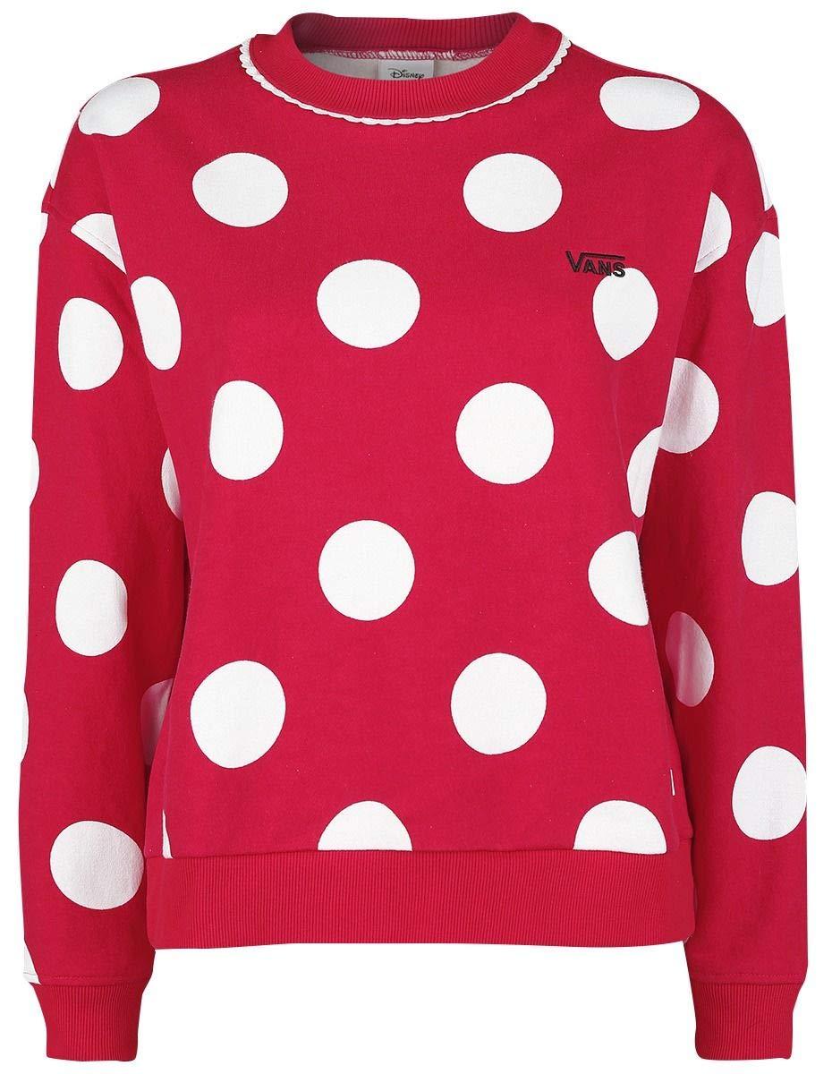 Sudadera Disney Vans Minnie De Mujer Boxy Rojo xCq4wtdq
