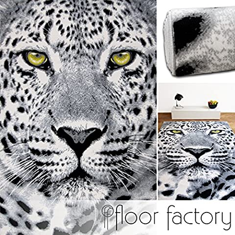 Tapis 160 X 160 Blanc - Tapis Moderne Wild Life noir/blanc 160x225 cm