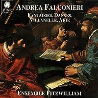 Falconieri: Fantaisies, danses, villanelle, arie