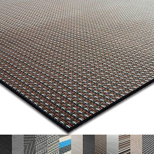 casa pura® Indoor- und Outdoor-Bodenbelag Modena | kunstvoll gewebt | als Teppich oder Läufer | 40 Größen (180x500cm)