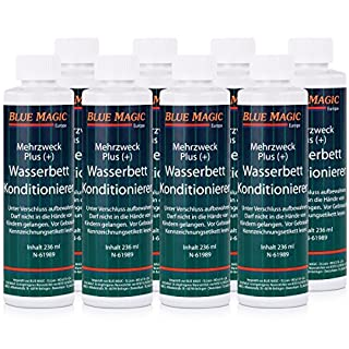 Blue Magic Wasserbett Konditionierer 8x 236ml Sparpaket Mehrzweck Plus(+)