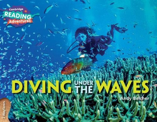 Diving under the waves. 2