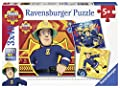Ravensburger - Feuerwehrmann Sam Puzzle 3 x 49 Teile