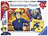 Ravensburger 93861 - Feuerwehrmann Sam Puzzle, 3 x 49 Teile Puzzle -