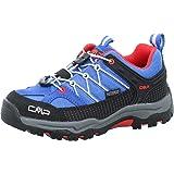CMP Rigel Low Trekking Shoe WP, Scarpe da Camminata. Unisex-Bambini