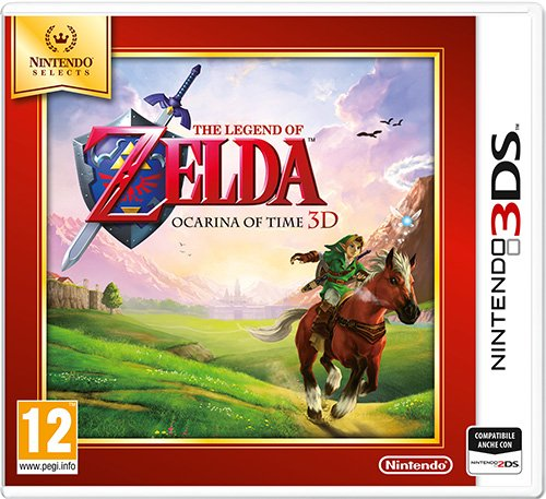 The Legend of Zelda Ocarina of Time 3D Nintendo Selects Nintendo 3DS