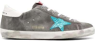 Golden Goose Luxury Fashion Uomo GMF00101F00033960253 Grigio Camoscio Sneakers | Ss21