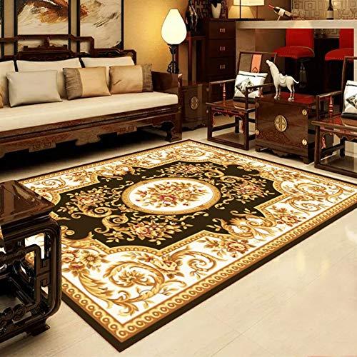 Liveinu classico tappeti a pelo corto per salotto soggiorno modern design tappeto per salotto arredamento antiscivolo lavabili ornamenti 160x230cm