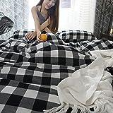 WHICH Umbrella three gestreifte bettwäsche für weiche 100% bettwäsche aus ägyptischer Baumwolle steppdecke auf 1 stück Bett legt nach Hause coverlets Textil - königin-W-150cm x 200cm