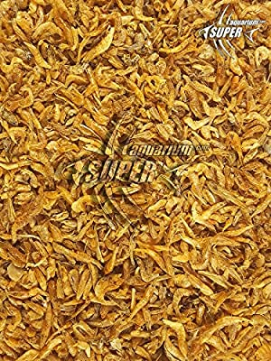 (200g) Super Aquarium Natural Dried River Shrimp Koi Pond Fish Food, Tropical Cichlid Fish Food, Terrapin Turtle Food (2-3cm) from SUPER AQUARIUM