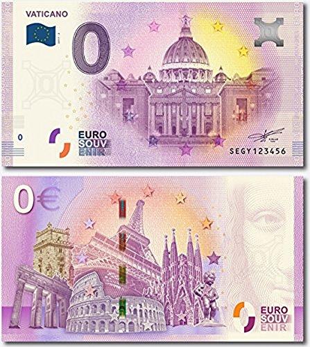 VATIKAN 2018 0 Zero Euro Souvenir