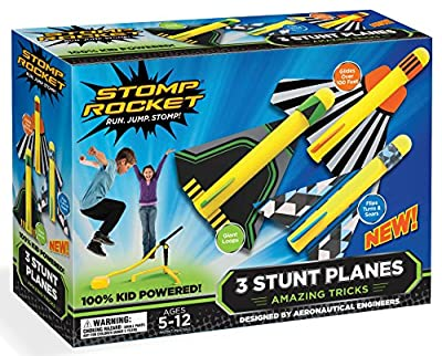 Stomp Rocket 40000 Stunt Plane Kit by Stomp Rocket