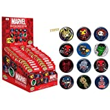 Marvel Collectible Pinback Button Funko Pop Mystery Button (Case of 34) by Pop Buttons