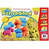 GRAPPLE DEALS Active Sand Animal Play Set Modeling Sand Never Dries Out For Kids.