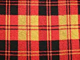 Minerva Crafts Plaid kariert Grobstrick Stretch Jersey