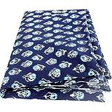 BANARSI DAS Floral Print Jaipuri Fabric Handmade Sanganeri Cotton Fabric Indian Hand Block Print Fabric 2.5 Meter