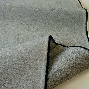 segeltuch stoff canvas in grau meliert rohware aus 100 baumwolle meterware am st ck. Black Bedroom Furniture Sets. Home Design Ideas