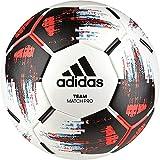 adidas Team Match Fußball White/Black/Solar Red/Bright Cyan 5