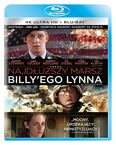 Die irre Heldentour des Billy Lynn [Blu-Ray] [Region B]