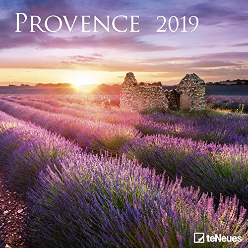 Provence 2019 - Wandkalender, Broschürenkalender, Landschaftskalender 2019 - 30 x 30 cm (Grid-ziel)