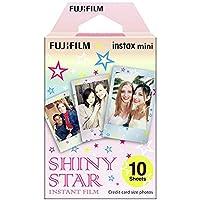 Fujifilm Instax Mini Film Pellicola Istantanea per Fotocamere Shiny Star, Formato 46x62 mm, Confezione da 10 Foto