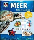 Rätseln und Stickern: Meer (WAS IST WAS Rätselhefte) - Lisa Hebler